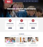 Education Website  Template 51138