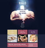 Religious Website  Template 51140
