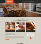 Furniture Website  Template 51141