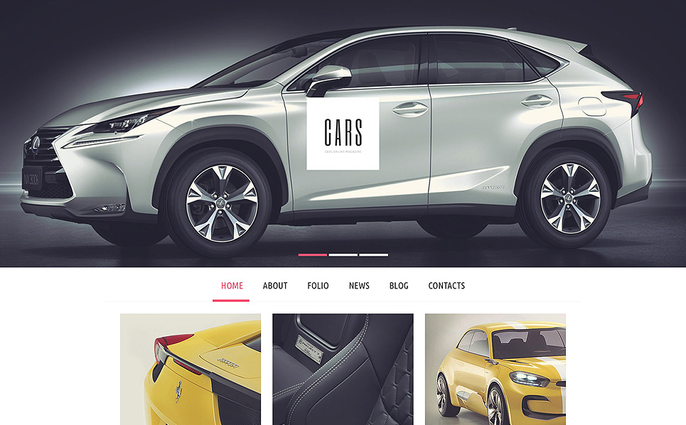 Responzivní WordPress motiv na téma Automobilový klub New Screenshots BIG