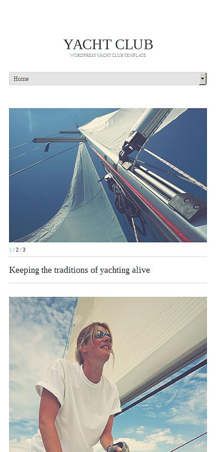 WordPress Theme/Template 51146 Main Page Screenshot