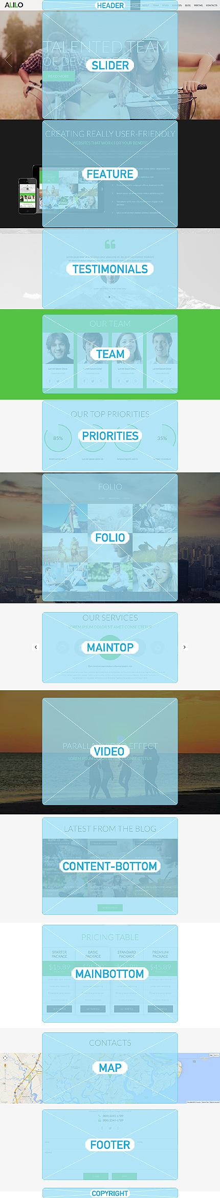 Joomla Theme/Template 51148 Main Page Screenshot