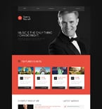 Personal Page Website  Template 51154