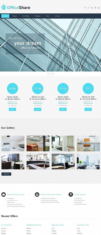 ADOBE Photoshop Template 51163 Home Page Screenshot