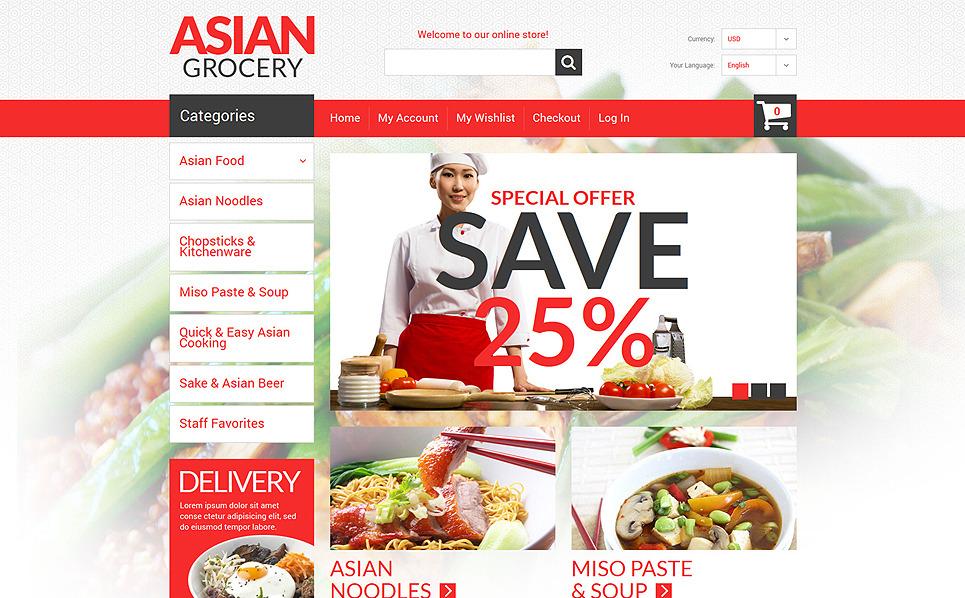 Reszponzív Élelmiszerboltok Magento sablon New Screenshots BIG