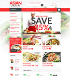 Food & Drink Magento Template 51166