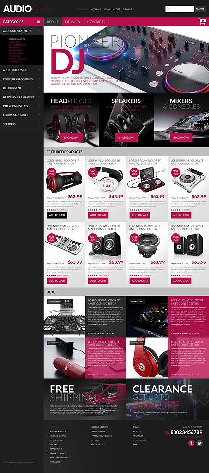 PSD макет сайта №51169