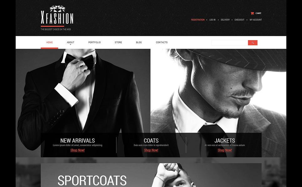 Template PSD  #51172 per Un Sito di Abbigliamento New Screenshots BIG