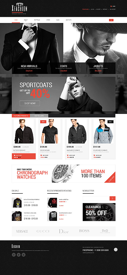 ADOBE Photoshop Template 51172 Home Page Screenshot