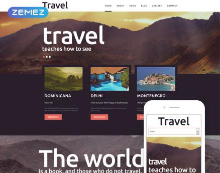 Travel - Fancy Tourism Blog Joomla Template