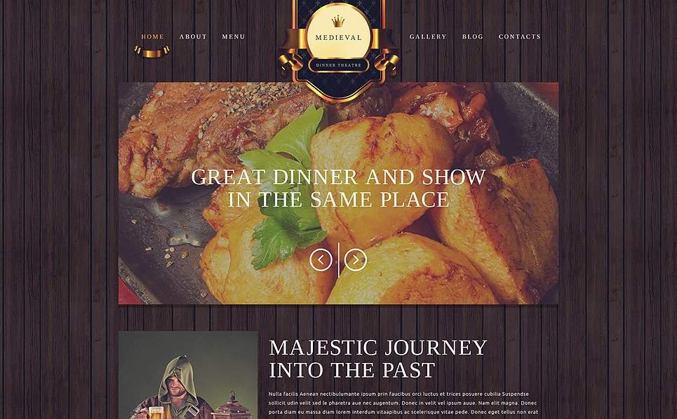 Responsive Kafe ve Restoran  Web Sitesi Şablonu New Screenshots BIG