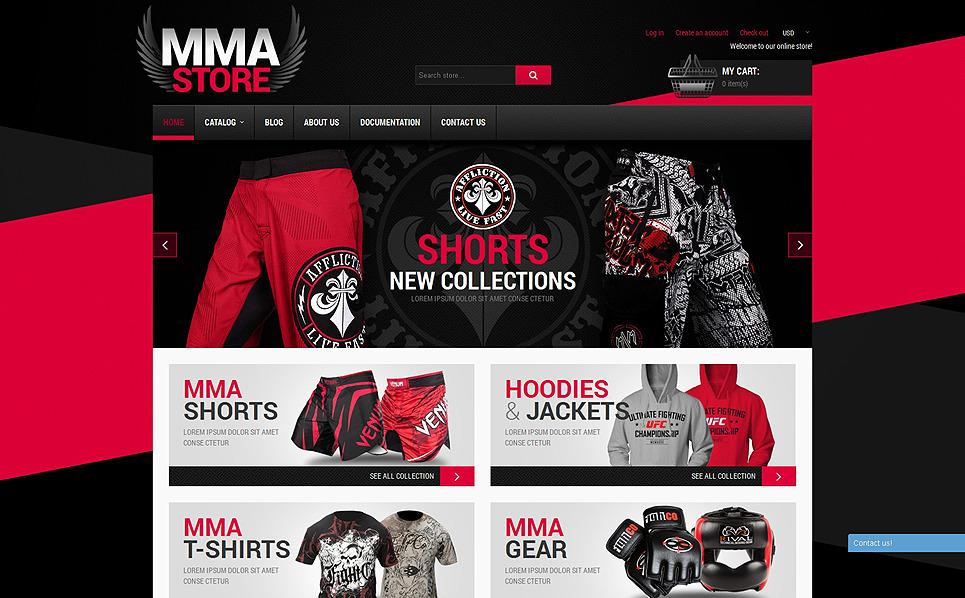 Responsive Shopify Thema over Sportzaak  New Screenshots BIG