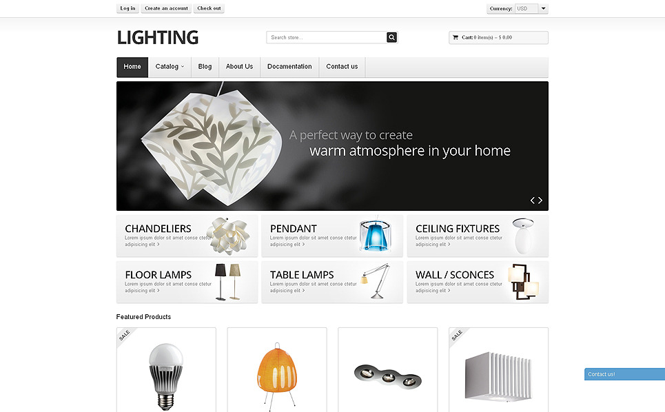 Tema Shopify Responsive para Sitio de Decoración del hogar New Screenshots BIG