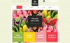"""Boutique fleuriste"" thème WooCommerce adaptatif New Screenshots BIG"