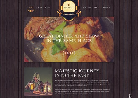 Cafe and Restaurant Responsive