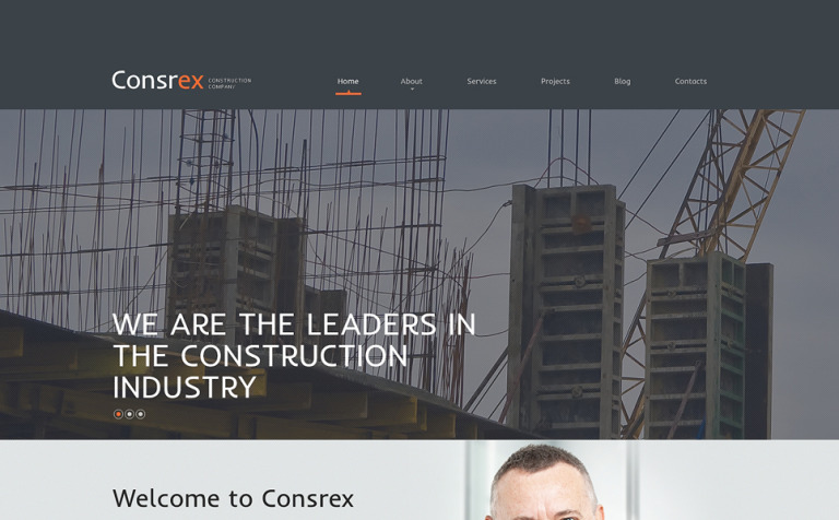 9 Construction Company WordPress Themes & Templates