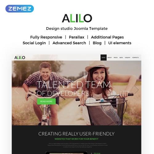 Alilo - Joomla! Template based on Bootstrap