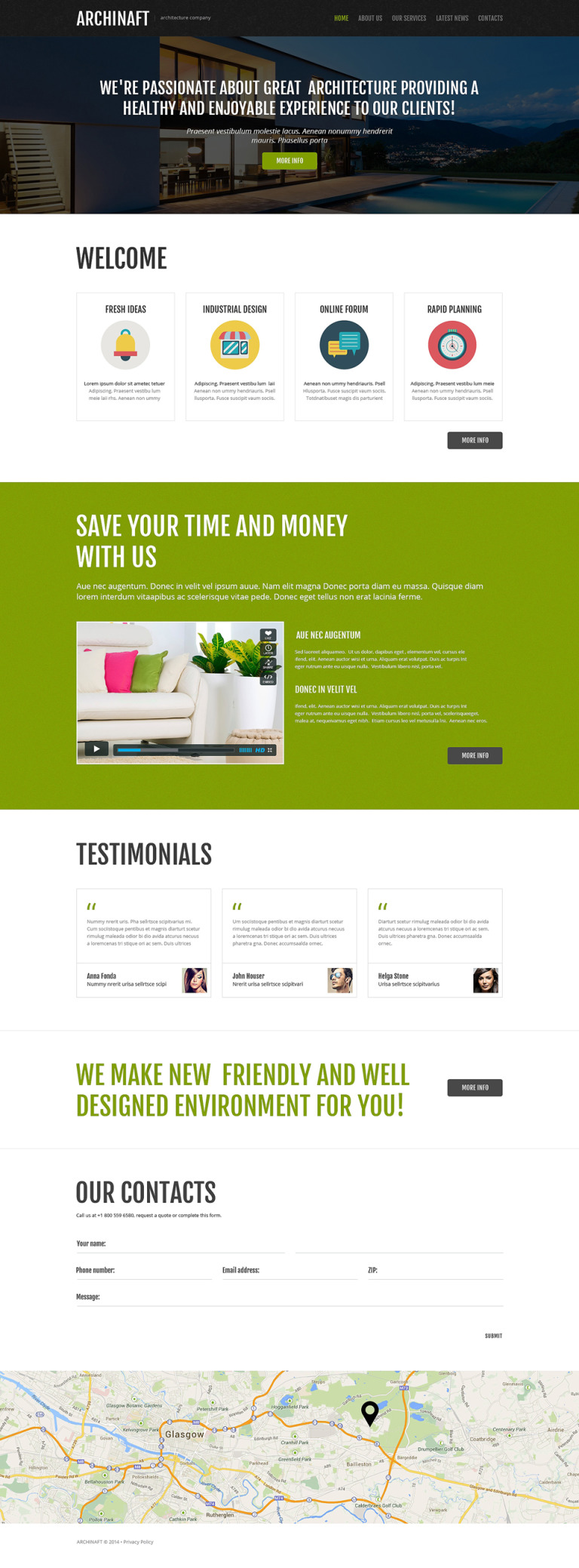 Dream Design Board Joomla Template New Screenshots BIG