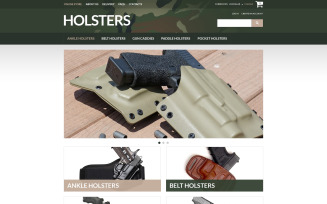 Durable Holsters for Weapons VirtueMart Template