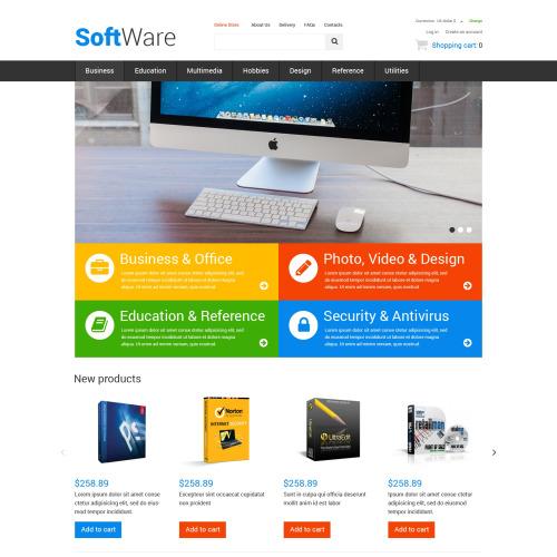 Software - HTML5 VirtueMart Template