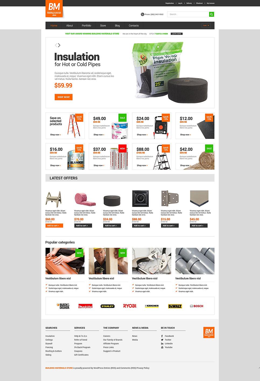 Home Repairs Responsive WooCommerce Theme New Screenshots BIG