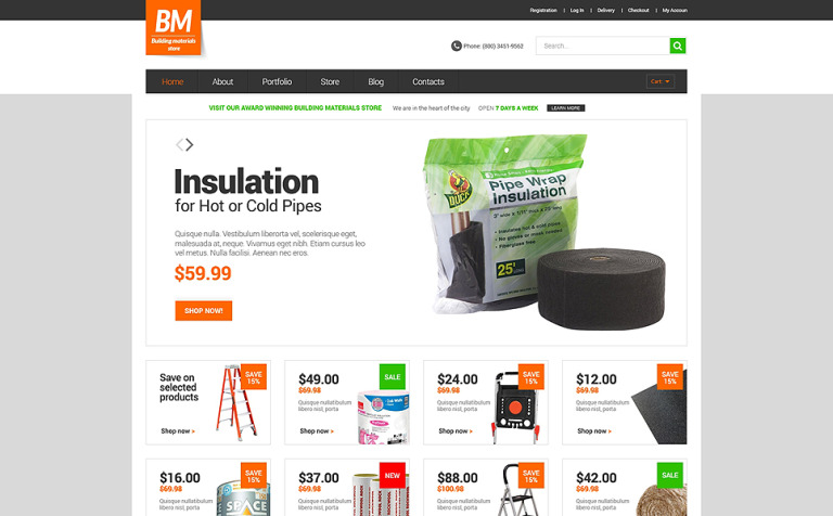 Home Repairs Responsive WooCommerce Theme