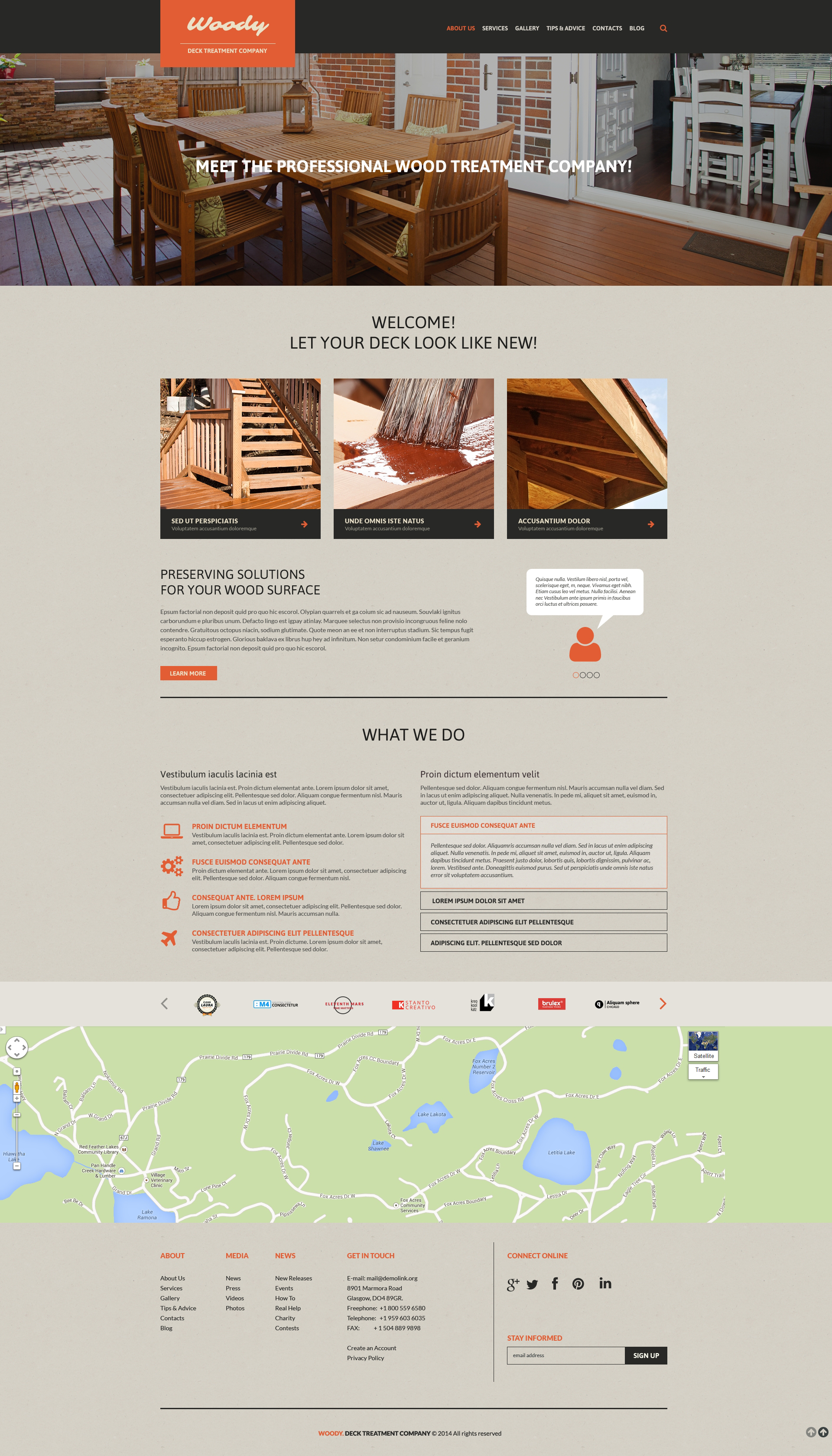 Interior Design Responsive Website Template 51141