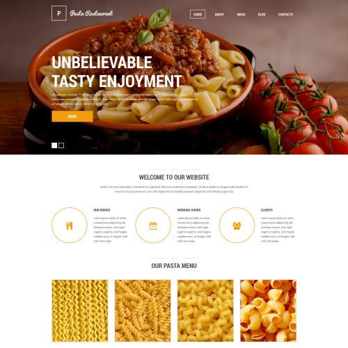 Pasta Restaurant - HTML5 Drupal Template