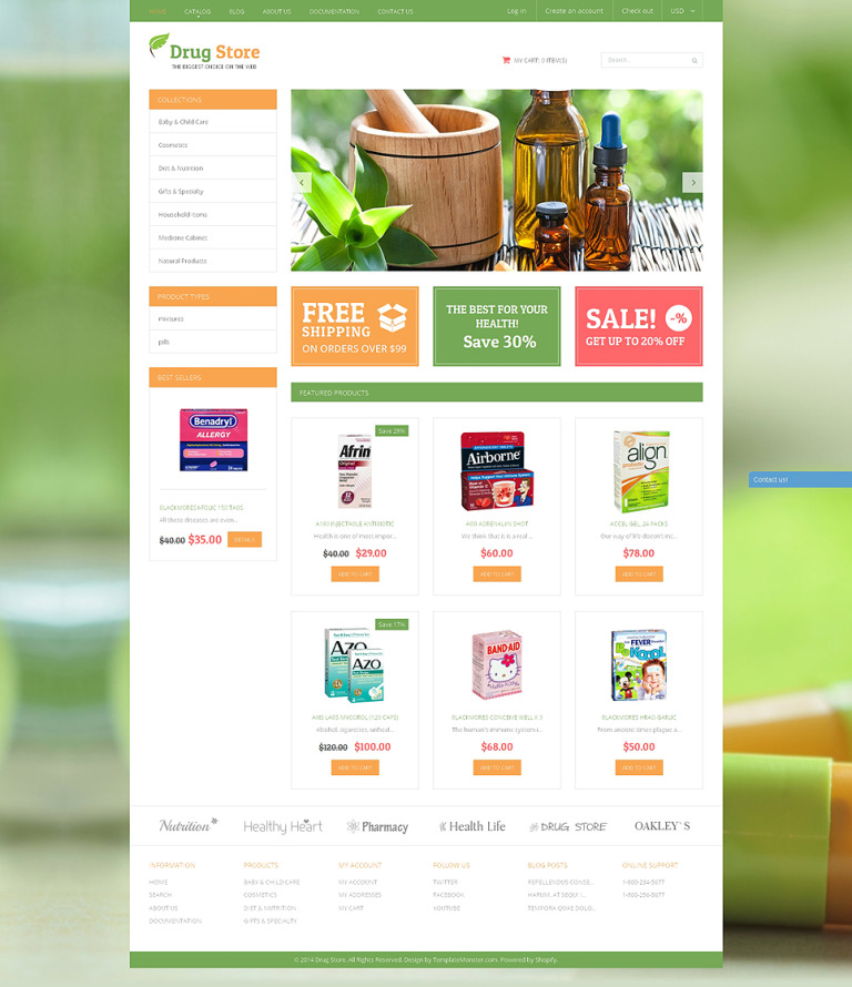 Medical Treatment Substances Shopify Theme New Screenshots BIG