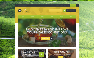Naturally Grown Tea Magento Theme