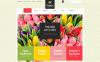 "Responzivní WooCommerce motiv ""Floristic Store"" New Screenshots BIG"