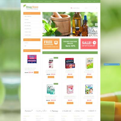 Responsive Tema Shopify #51196 para Sitio de  para Sitio de Farmacias