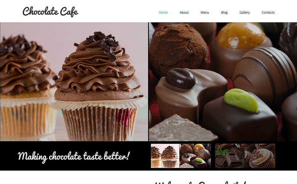 Template Joomla Flexível para Sites de Cafeteria №51114 New Screenshots BIG
