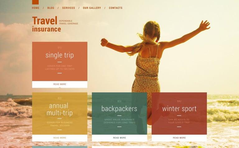 Vacation Security WordPress Theme
