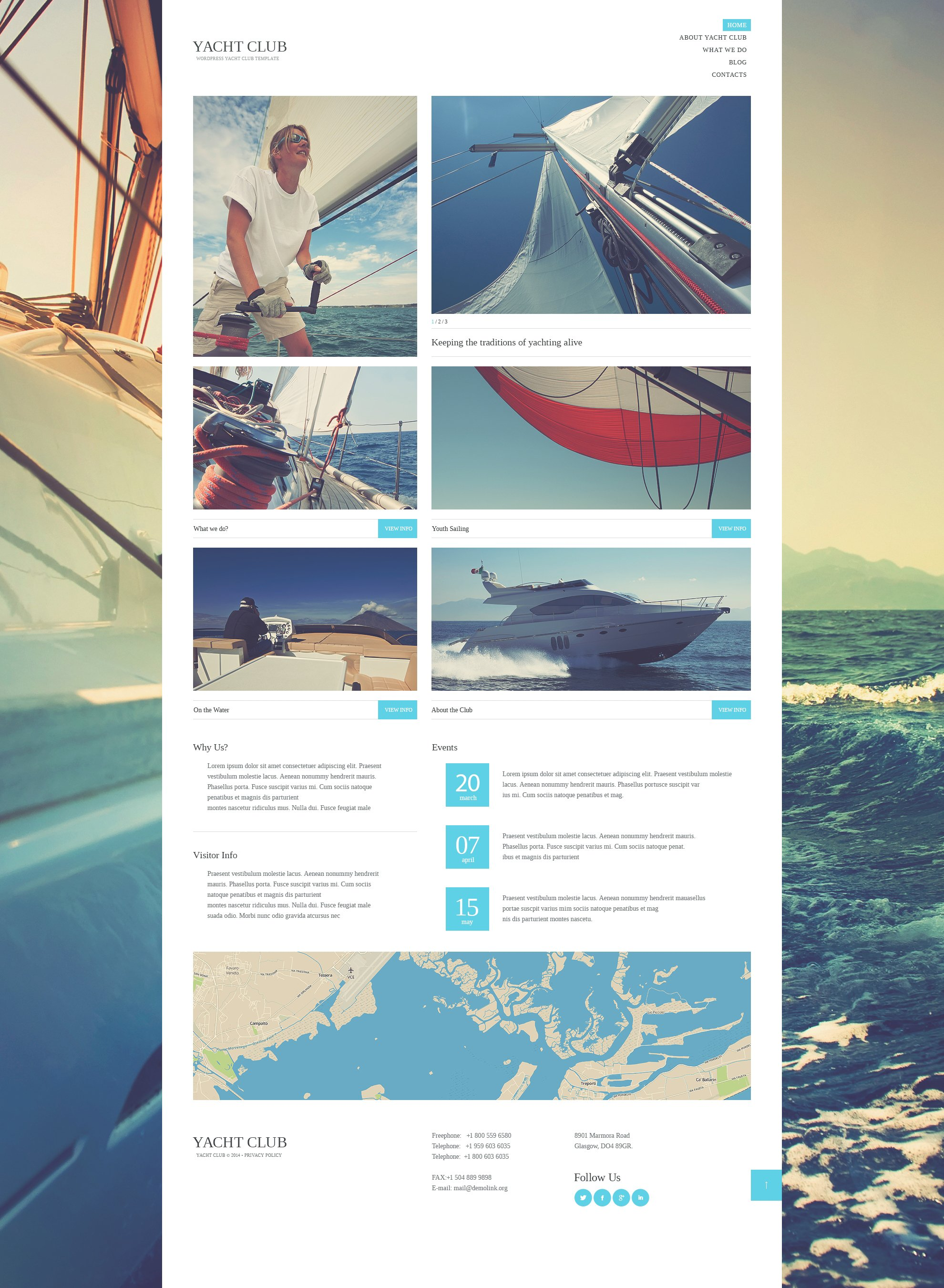 Yacht club wordpress theme 51146 yacht club wordpress theme toneelgroepblik Image collections