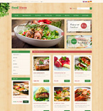 Food & Drink osCommerce  Template 51200