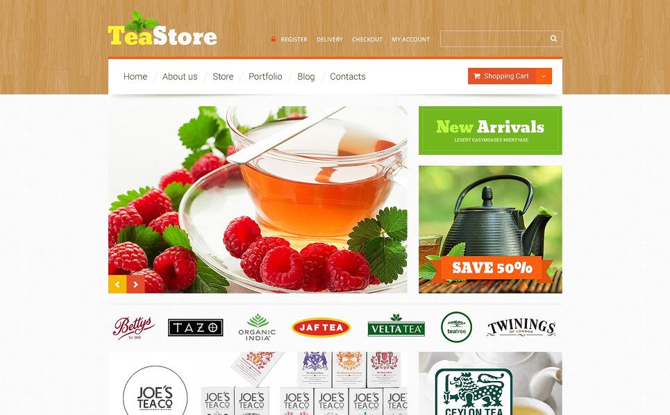 Responzivní WooCommerce motiv na téma Prodejna čaje New Screenshots BIG