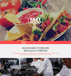 Cafe & Restaurant Drupal  Template 51203