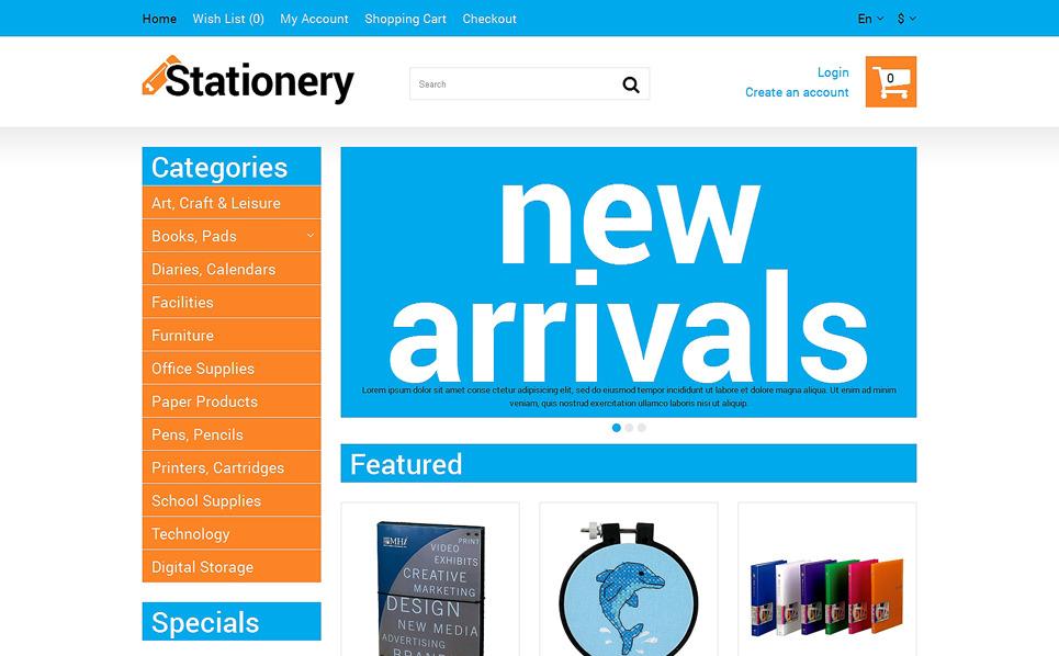 Responsive OpenCart Template over Kantoorbehoeften New Screenshots BIG