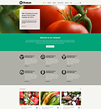 Agriculture Website  Template 51209