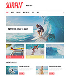 Sport Website  Template 51211