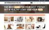 Responsivt Hemsidemall för veterinär New Screenshots BIG