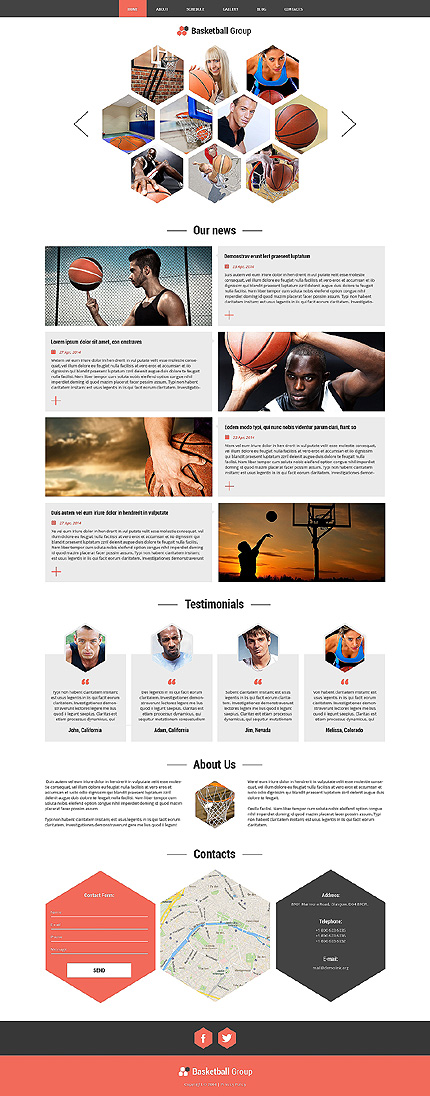 Joomla Theme/Template 51222 Main Page Screenshot
