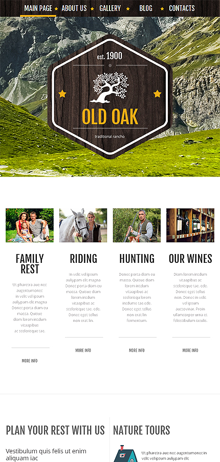 WordPress Theme/Template 51223 Main Page Screenshot