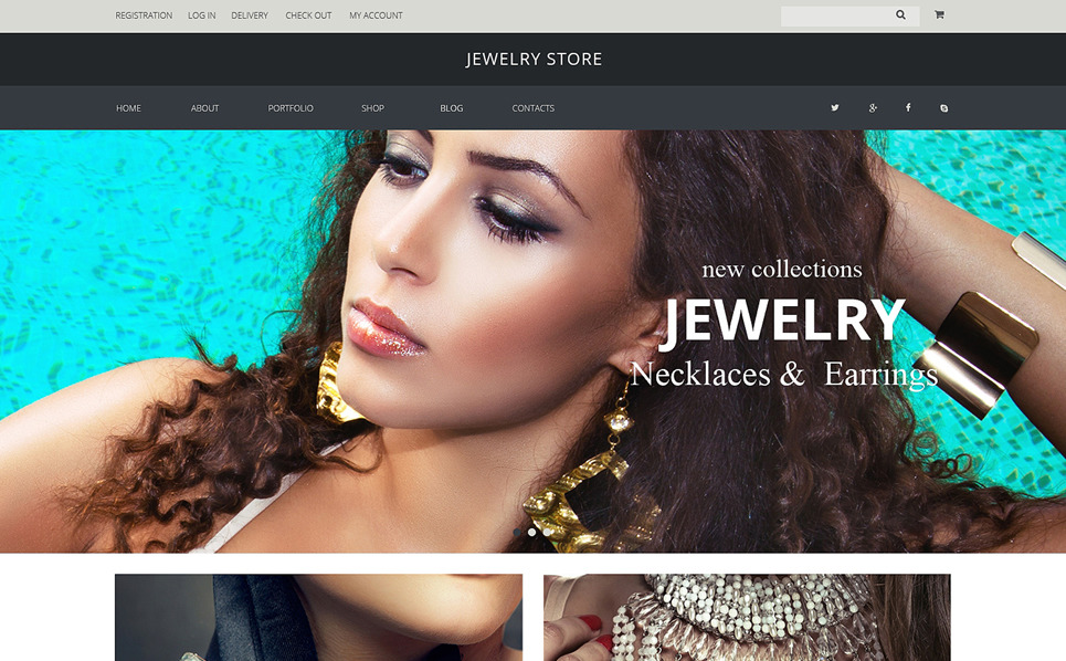 Responsywny motyw WooCommerce #51227 na temat: biżuteria New Screenshots BIG