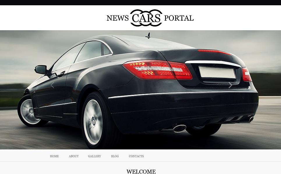 Tema Muse  #51228 per Un Sito di Club Automobilistico New Screenshots BIG