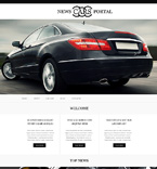 Cars Muse  Template 51228