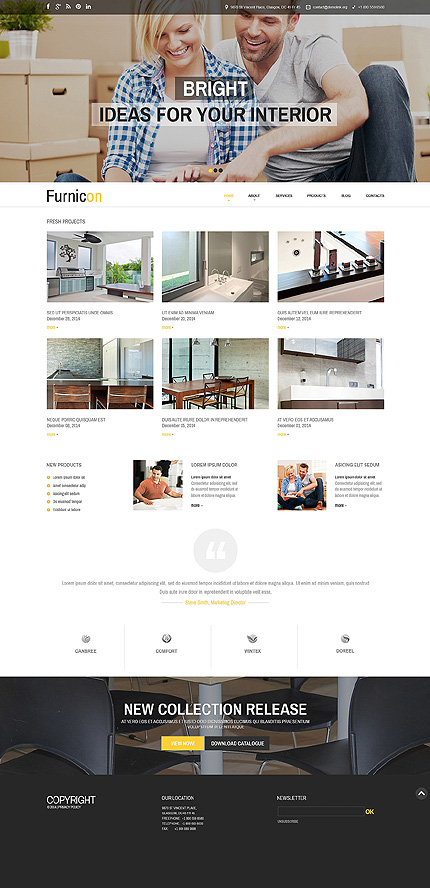 Drupal Template 51236 Main Page Screenshot