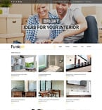 Furniture Drupal  Template 51236