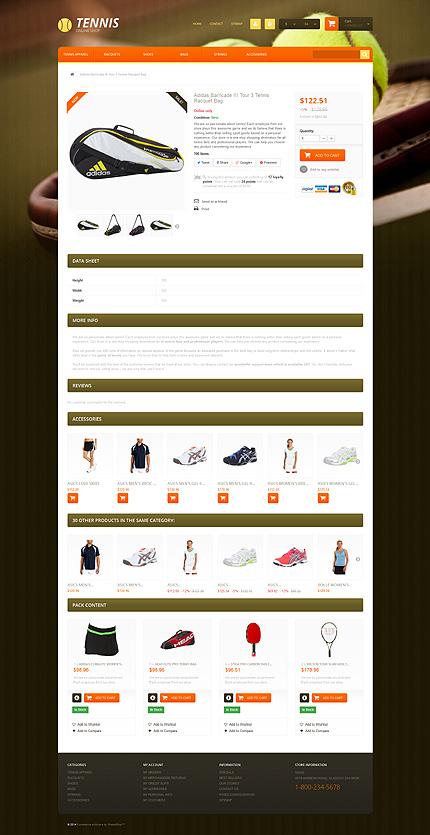 ADOBE Photoshop Template 51238 Home Page Screenshot